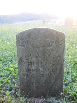 Ella Mae Burris