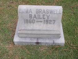 Emma <i>Braswell</i> Bailey