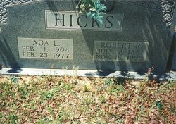 Ada Lee <i>Shockley</i> Hicks