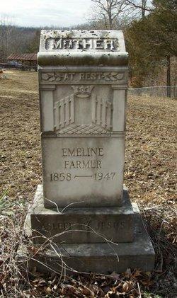 Emeline <i>Eaton</i> Farmer