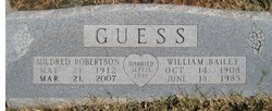 Mildred <i>Robertson</i> Guess