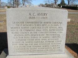 Alphonsa Calhoun Avery, Sr
