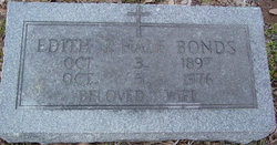 Edith Jo <i>Hale</i> Bonds