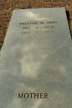 Pauline <i>Miller</i> Akin