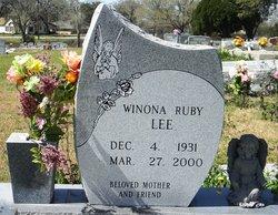 Winona <i>Ruby</i> Lee