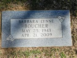 Barbara <i>Snyder</i> Boucher