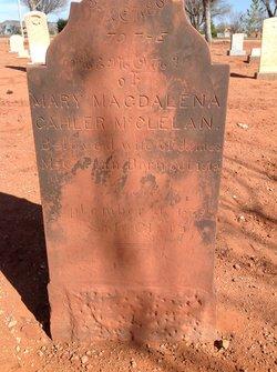 Mary Magdalena <i>Gahler</i> McClellan