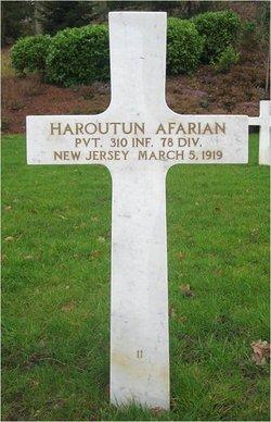 Pvt Haroutun Afarian