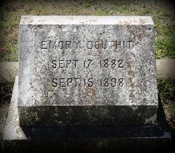 Emory J Douthit