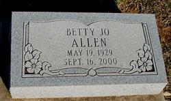 Betty Jo <i>Lawrence</i> Allen