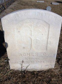 Agnes C <i>Getz</i> Holmes