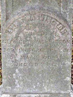 Ann Thomas Beall <i>Peter</i> Washington