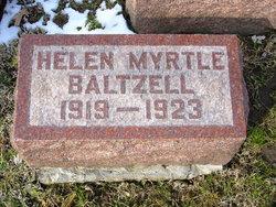 Helen Myrtle Baltzell