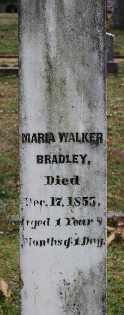 Maria <i>Walker</i> Bradley