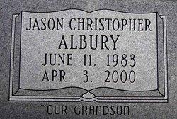 Jason Christopher Albury