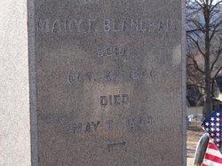 Mary F <i>Irwin</i> Blanchard