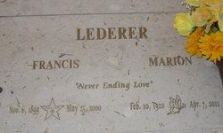 Francis Lederer