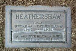 Norman Muxlow Heathershaw