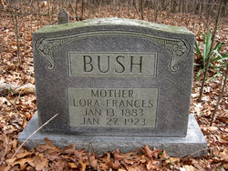 Lora Frances <i>Simmons</i> Bush