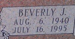 Beverly J <i>Ervin</i> Hood