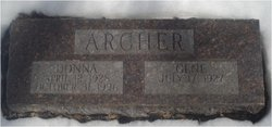 Donna Fern <i>Baker</i> Archer