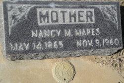 Nancy Matilda Tillie <i>Hooper</i> Mapes