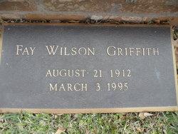 Fay <i>Wilson</i> Griffith