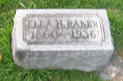 Mary Ella <i>Humiston</i> Baker