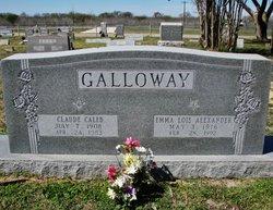 Claude Caleb Galloway