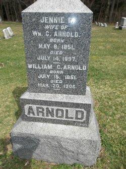 Jane Patton Jennie <i>Irvin</i> Arnold