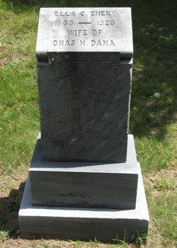 Ella Clarinda <i>Buchanan</i> Dana