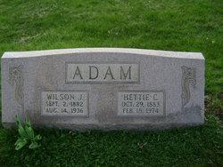 Hettie Clara <i>Mengel</i> Adam