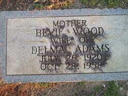 Bevie <i>Wood</i> Adams