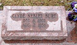Clyde Neblet Burt