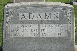 Charles D Charley Adams