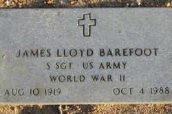 James Lloyd Barefoot
