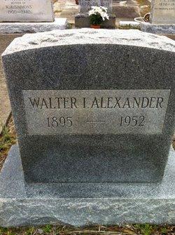 Walter Iroquois Alexander