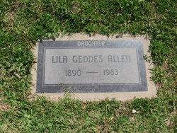 Lila Caroline <i>Geddes</i> Allen