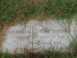 James Matison Barton
