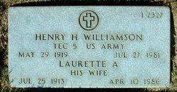 Henry Howard Williamson