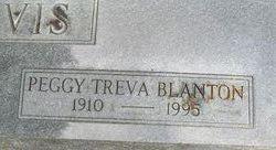 Peggy Treva <i>Blanton</i> Davis