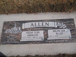 Freda Fern <i>Harrison</i> Allen