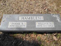 Fannie Belle <i>Williams</i> Hamblen