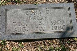 Edna E <i>Hunter</i> Bazar