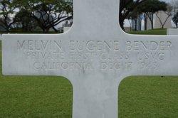 PFC Melvin Eugene Bender
