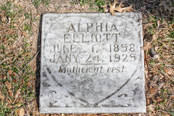 Alphia <i>Dixon</i> Elliott