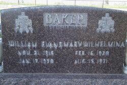 William Evans Baker, Sr