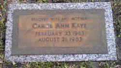 Carol Ann <i>Smith</i> Kaye