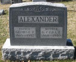 Glencora Elizabeth Cora <i>Brandenburg</i> Alexander
