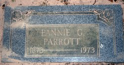 Frances George Ann Fannie <i>Prince</i> Parrott